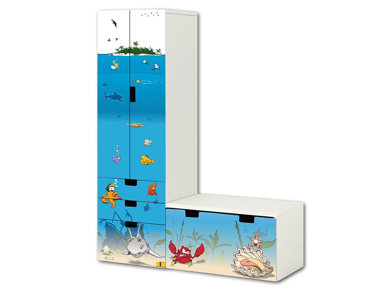 Unterwasserwelt Aufkleber Set Sl06 Passend Fur Die Kinderzimmer