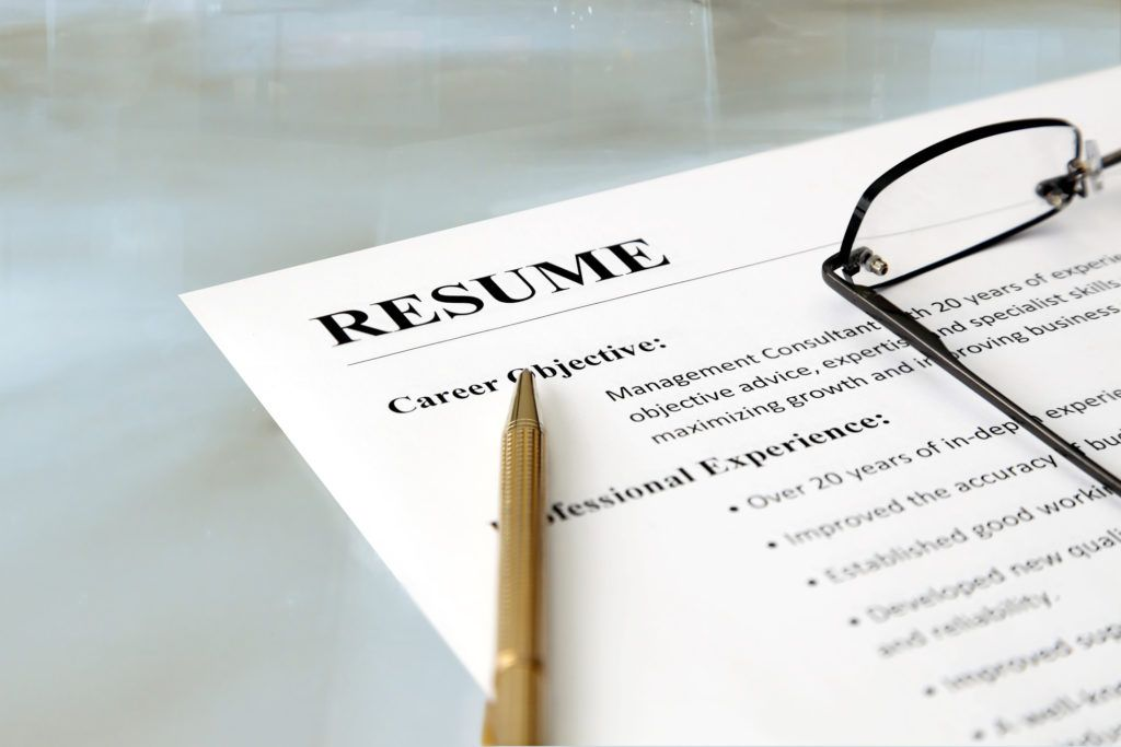 Action words on your resume can signal to the employer