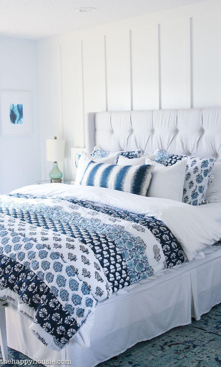 Simple Cozy Fall Master Bedroom Cozy master bedroom
