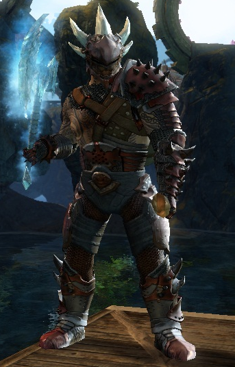 armor is primeval helm (gem store), barbaric shoulders/gloves/chest