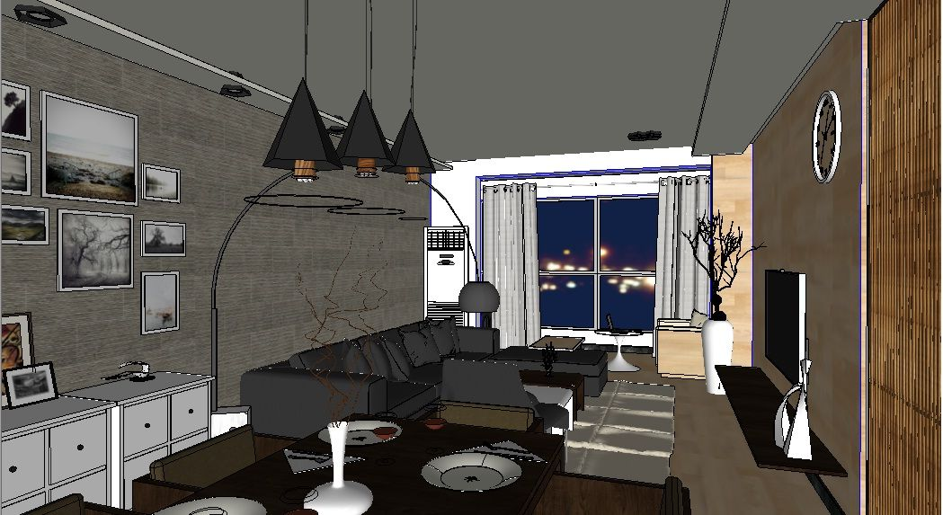 1019 Interior Classic Scene Sketchup Model Free Download Part 2