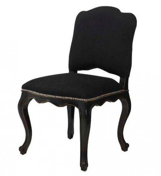 Awesome Barock Esszimmer Stuhl #4: Casa Padrino Luxus Barock Esszimmer Stuhl Lion Schwarz - Möbel Restaurant  Hotel Stühle Esszimmerstühle Ohne Armlehne