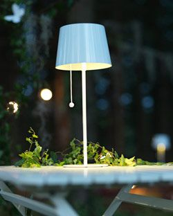 sun energy solvinden solar powered outdoor table lamps can light up