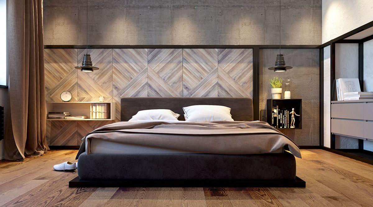 Skandinavische Schlafzimmer Ideen Modern minimalist