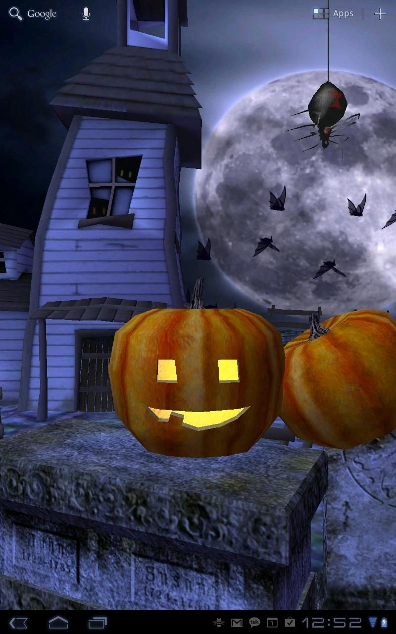 Happy Halloween Live Animated Wallpaper Free Download And