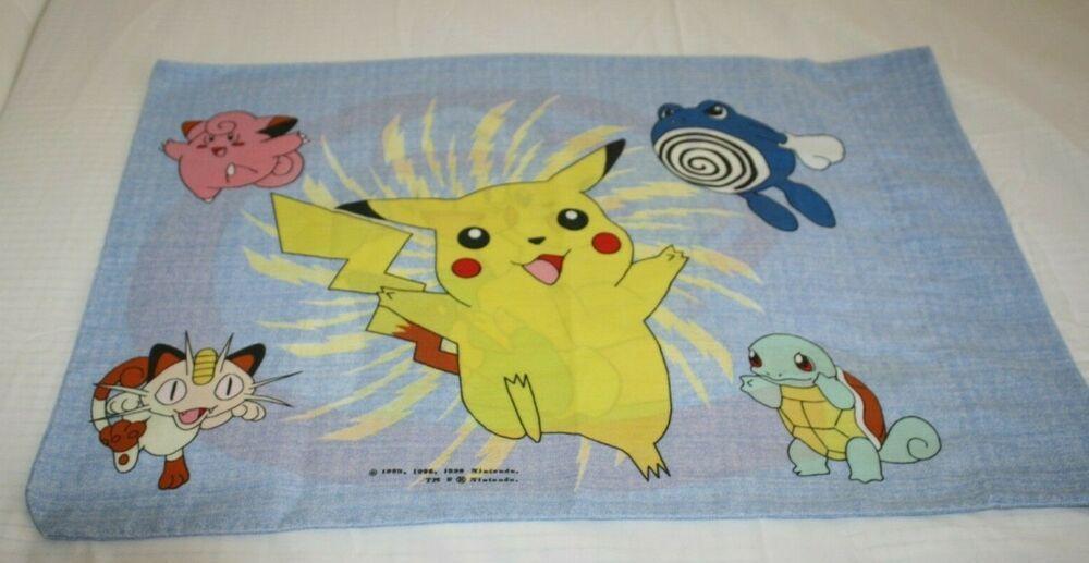 Pokemon Standard 1 Pillowcase Fabric Material 20 Quot X 26