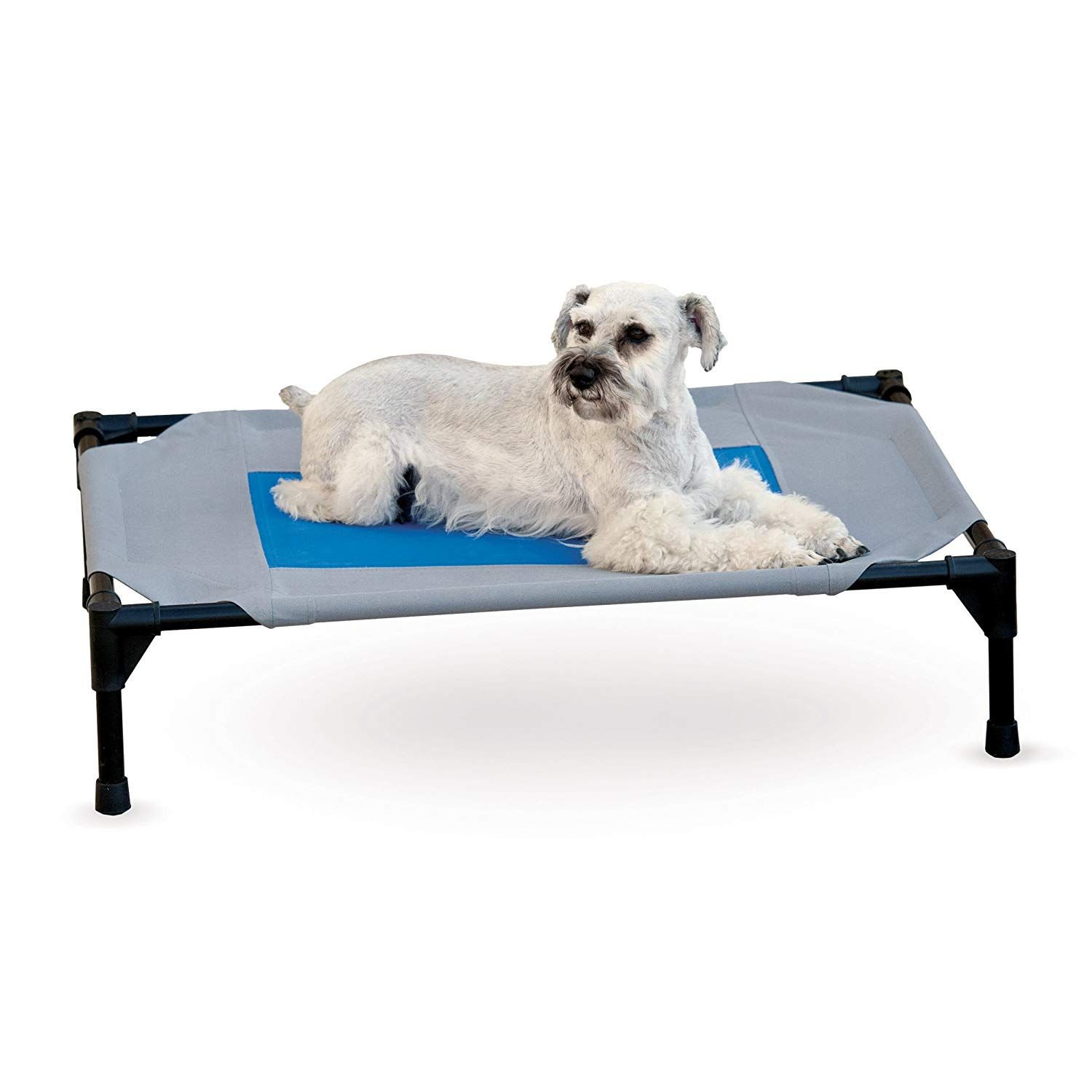 Veehoo Cooling Elevated Dog Bed Portable Raised Pet Cot Bed