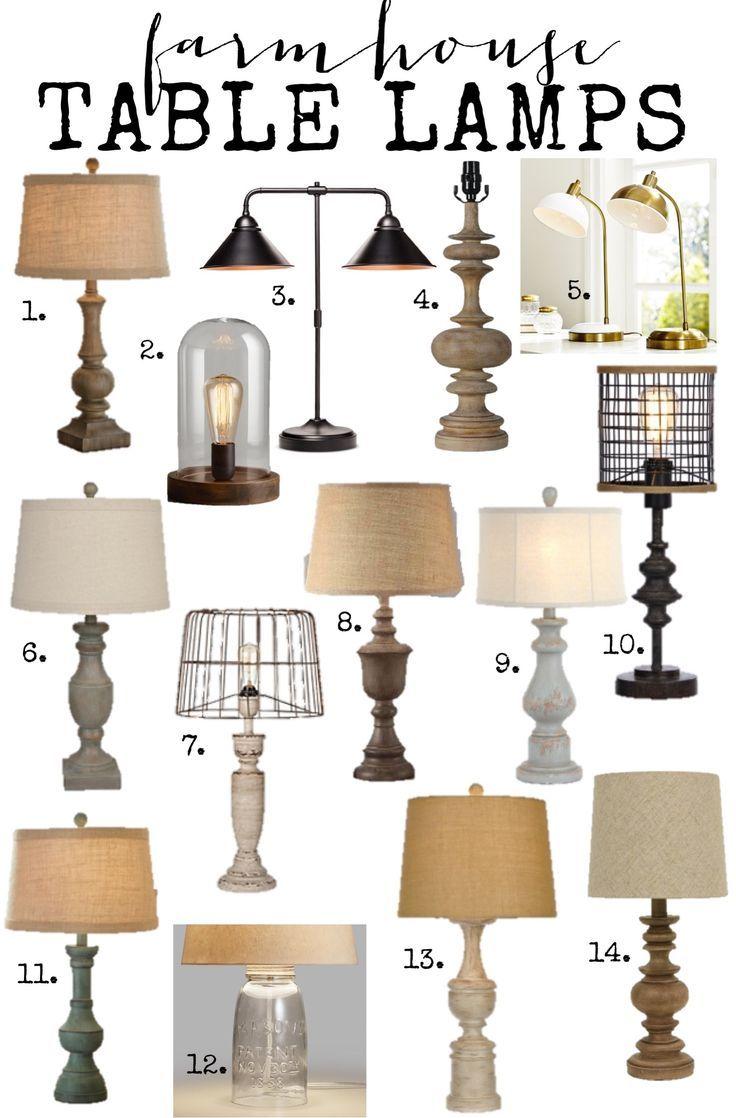 Farmhouse Lamps at amazing prices! farmhouse lighting