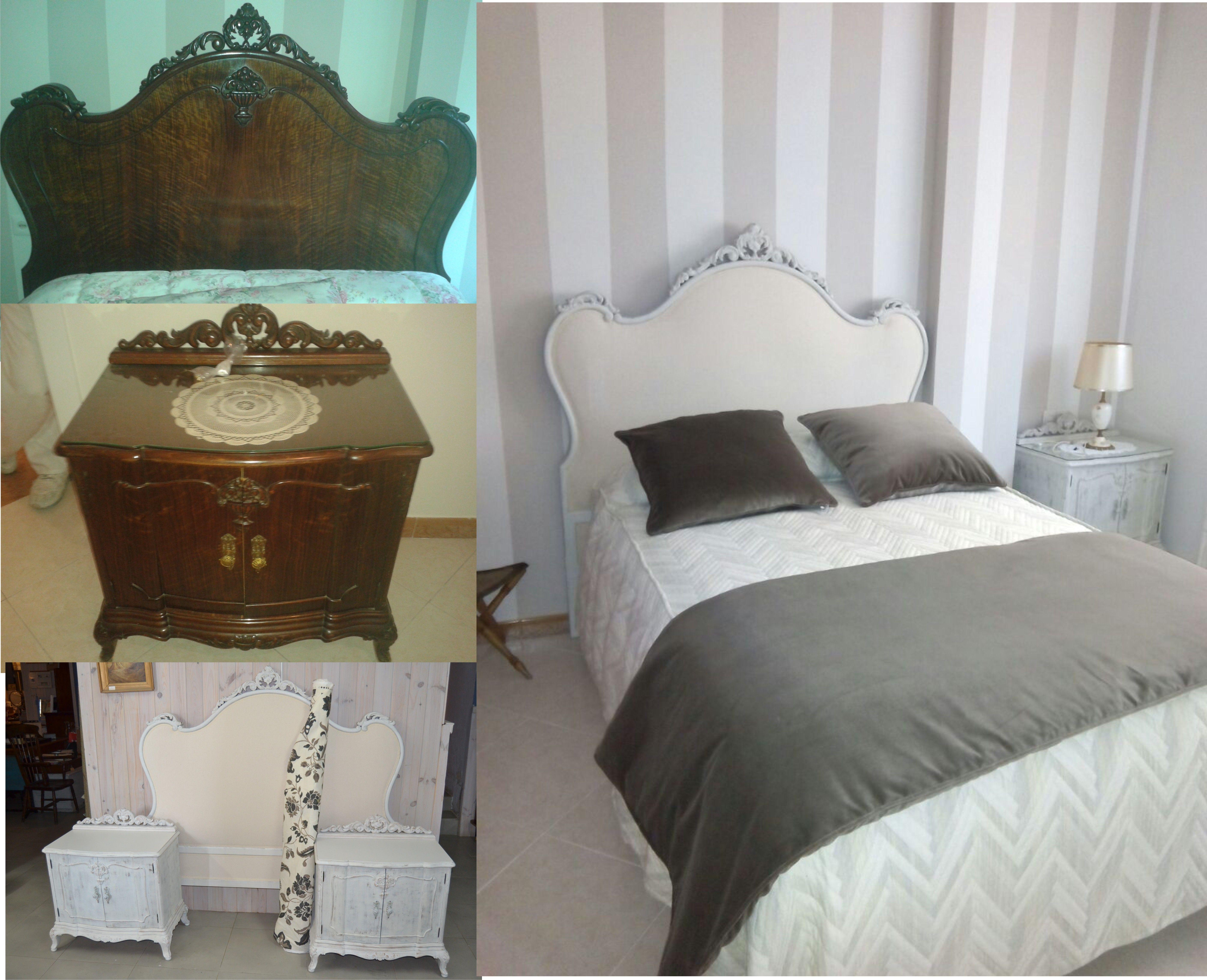 Restauraci n de muebles de dormitorio un aire diferente - Tapiceros en malaga ...