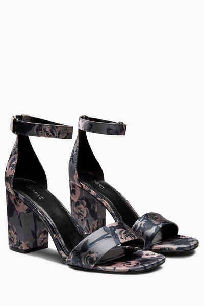 Next Schlichte Sandalette mit Blockabsatz | Schuhe