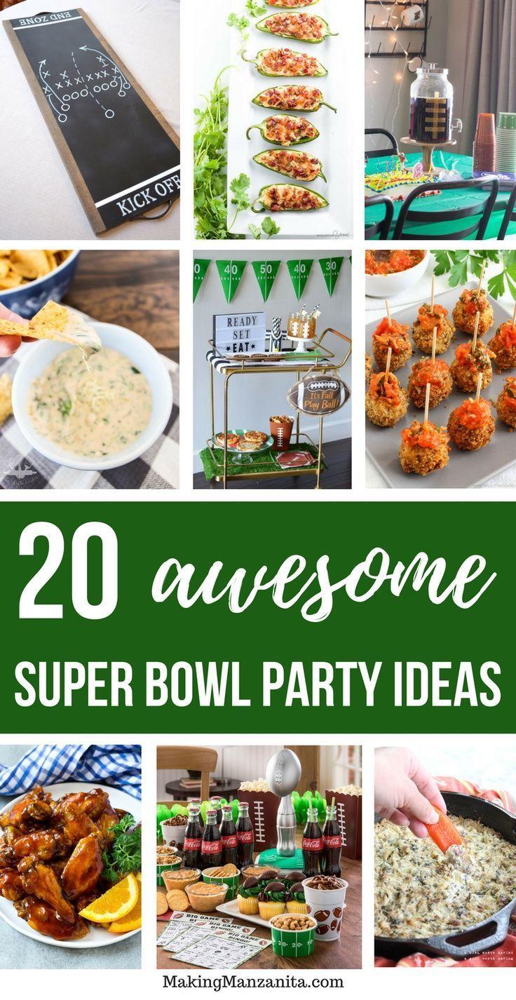 10 Delicious Super Bowl Recipes 10 Creative Super Bowl Decorations