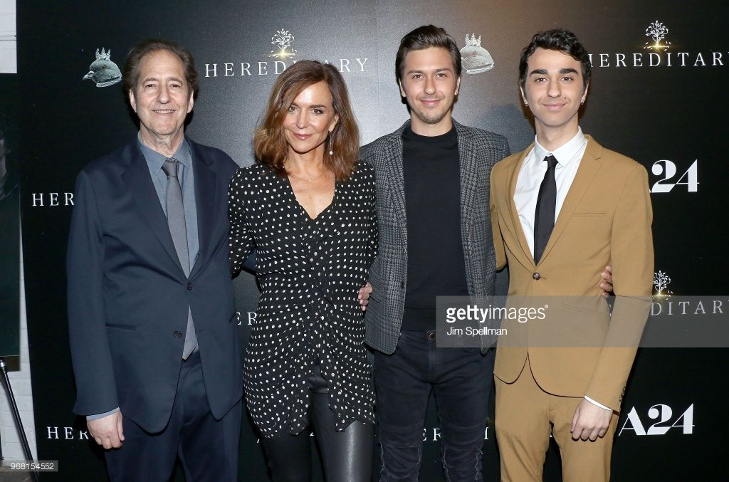 Alex Wolf, Nat Wolff, mother Polly Draper and cousin Jesse