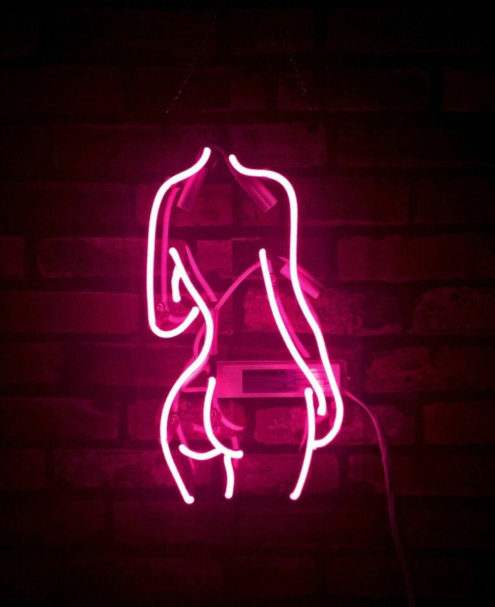 Embrace Your Body Pink Neon Sign in 2020 Pink neon sign