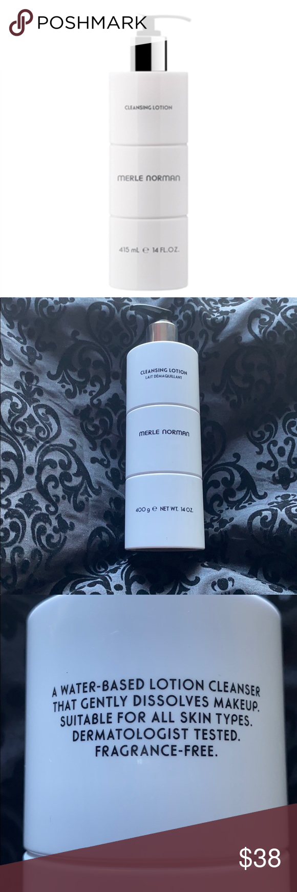 Merle Norman Cleansing Lotion For all skin types. An