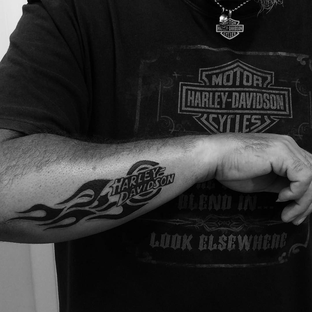 25 adventurous harley davidson tattoos harley davidson