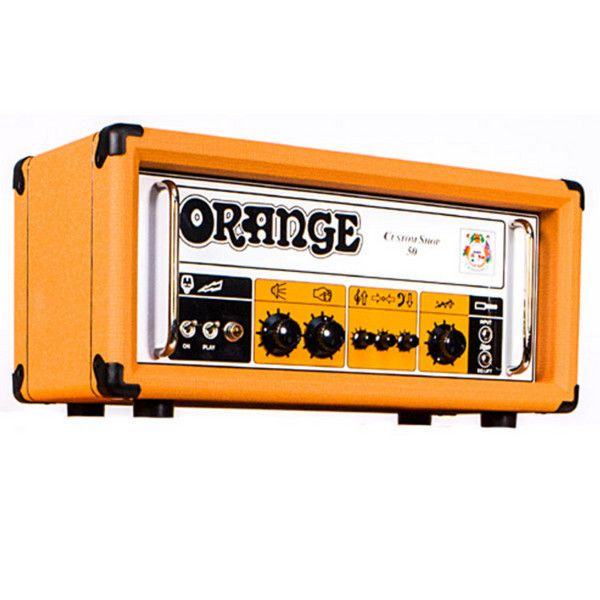 This Month's Amp Of The Month Is The Monstrous Orange
