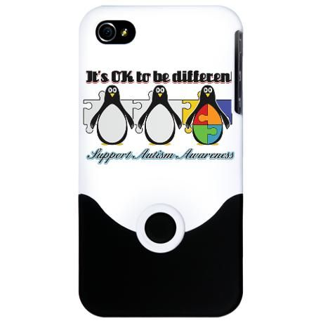Okay To Be Different #Autism iPhone Case