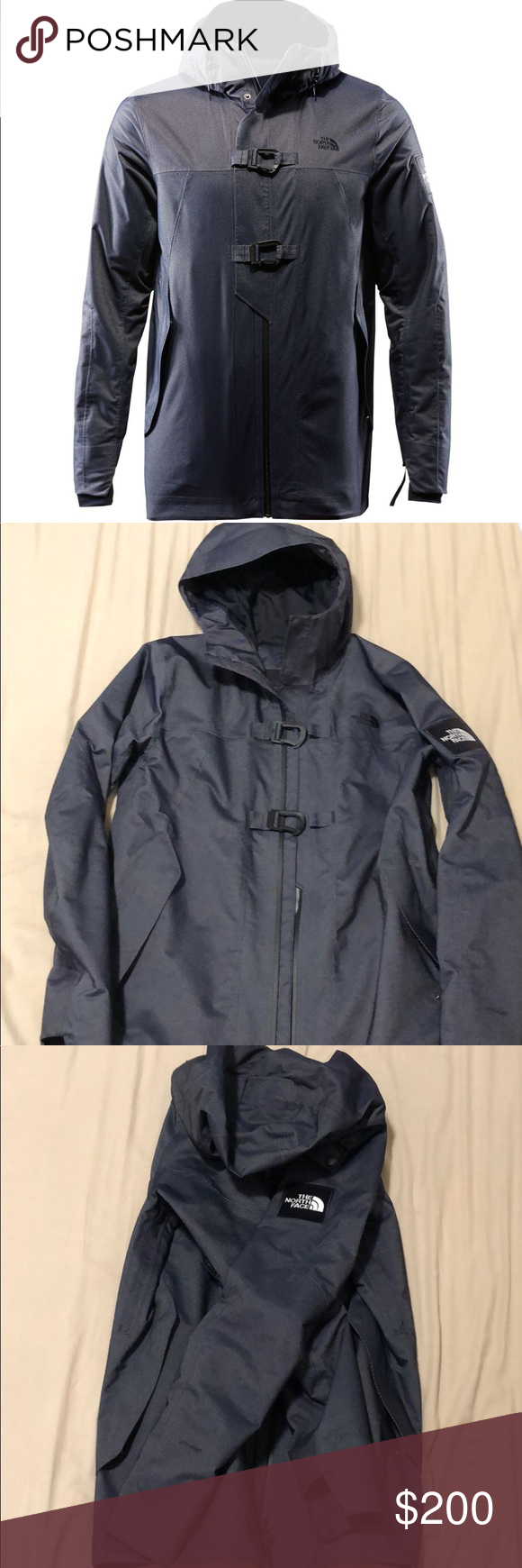 Rare  MEN S BLACK SERIES DRYVENT™ MOUNTAIN JACKET AUTHENTIC  The North Face  Dark Denim e48e2db57