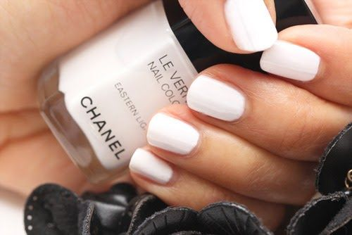White • Chanel • polish