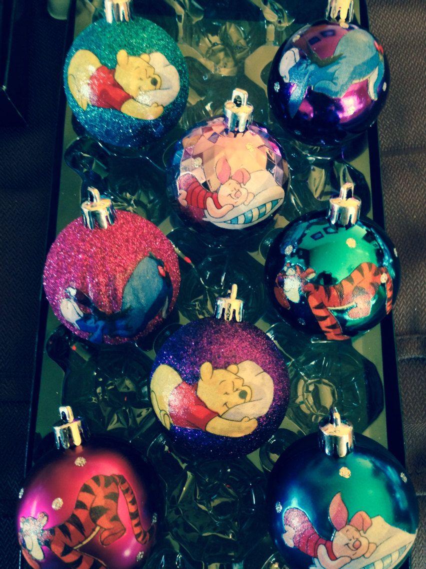 Winnie the Pooh Christmas Ornaments   Etsy   Winnie the pooh ...