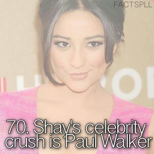 Emily/Shay Mitchell~RIP Paul Walker❤️