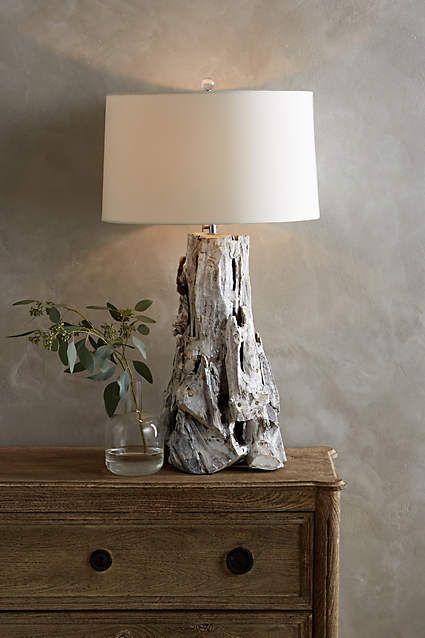 Driftwood Table Lamp   Anthropologie.com