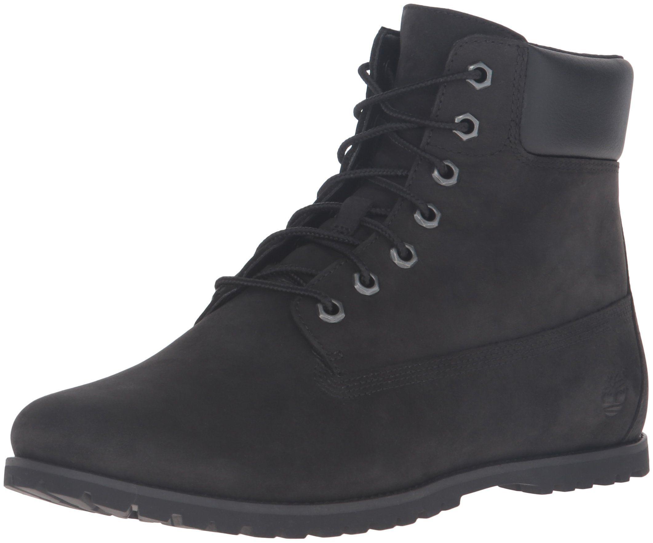 Timberland Women s Joslin 6 Inch Chukka Boot, Black Nubuck Black Collar, 6  M US. Made in USA or Imported. f64a7c31bb