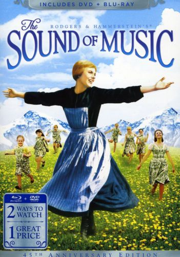 The Sound of Music (Blu-ray/DVD, 2010, 3-Disc Set, 45th Anniversary Edition 2 DVDs/Blu-ray)