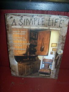this is a great mag. for old and fun primitives in your home great ideas.
