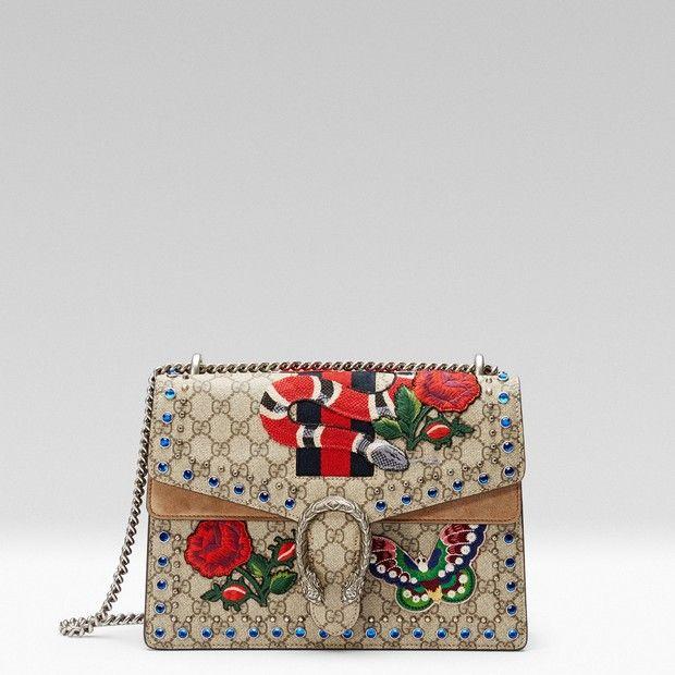 7ae7403cd4530 Gucci lança edição especial da bolsa Dionysus inspirada em oito ...