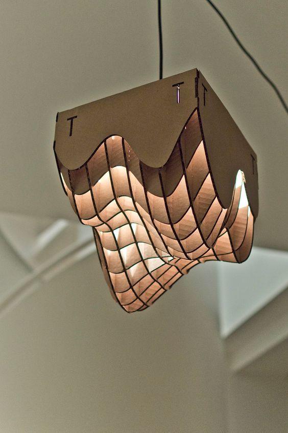 lampadari fai da te realizzati con il cartone! 20 idee  Lampadario fai da te, Lampadari e Fai da te