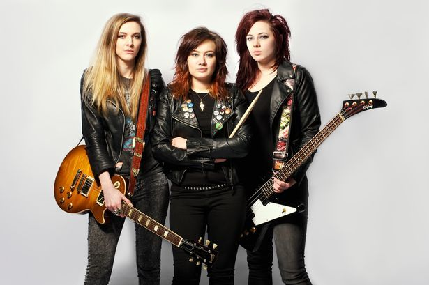 Girl rock band plucked from obscurity to back big-haired