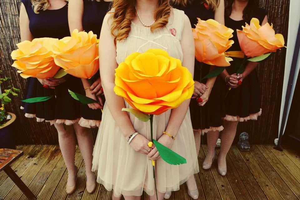 One giant flower bouquet | Large Paper Flowers | Pinterest | Paper ...
