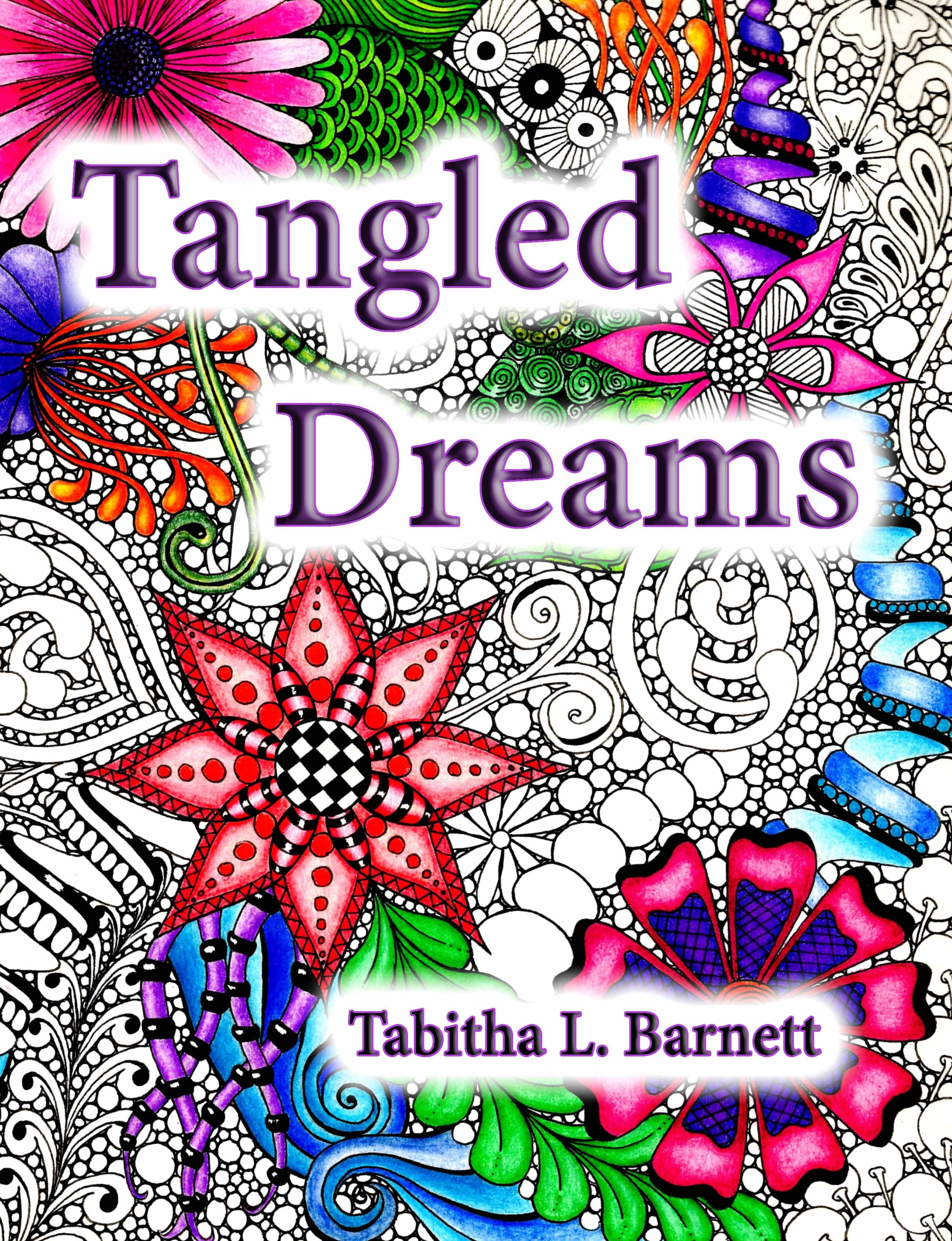 Tangled Dreams Coloring Book For Adults