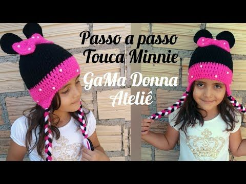 Touca Minnie passo a passo PARTE 1 - YouTube  abab358c028