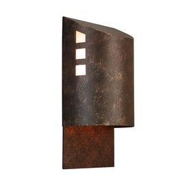 Exceptional Portfolio 12 In H Specialty Brozne Dark Sky Outdoor Wall Light $25  Interesting,