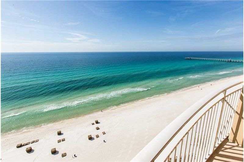 Relax And Enjoy The Stunning View At This Updated 2 Bedroom Condo At Aqua In Panama City Beach Florida Panama City Panama Aqua Resort Panama City Beach