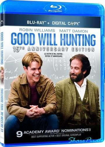 Good Will Hunting 1997 BluRay 720p cover