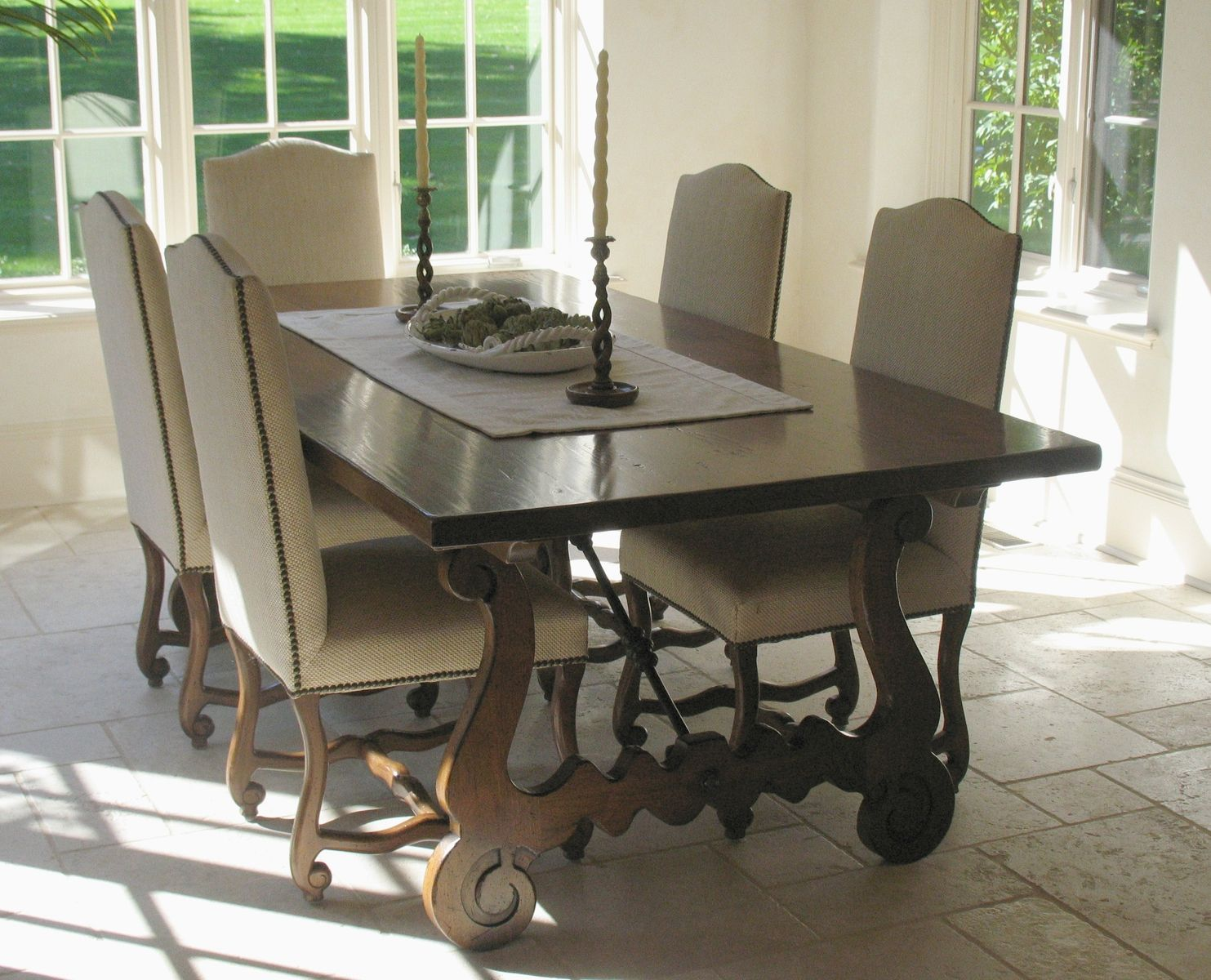 Modern rustic dining room table  Spanish Refectory Dining Table  Dining Rooms  Pinterest  Spanish