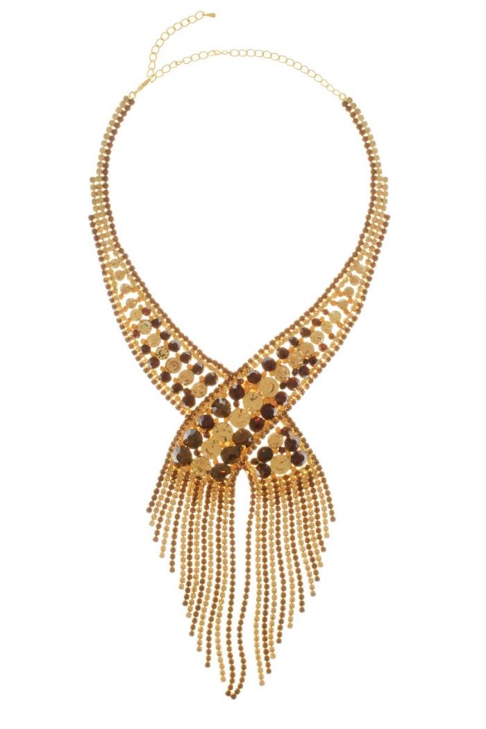 Rhinestone Fringe High Quality Necklace Set for Women