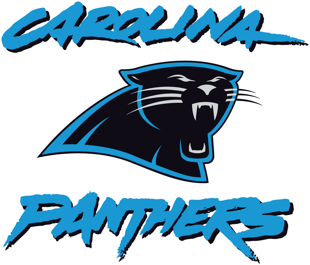 picture relating to Carolina Panthers Printable Logo identified as Carolina Panthers Different Brand (1996) - Panther intellect in just