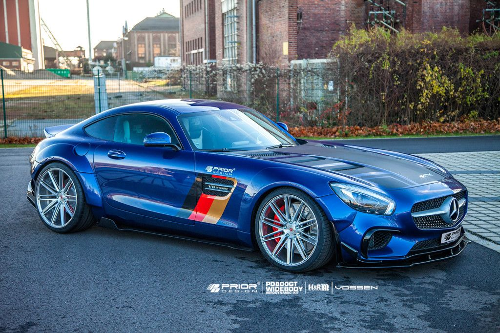 Prior Design Mercedes Gt Bodykit Supercar Body Kits