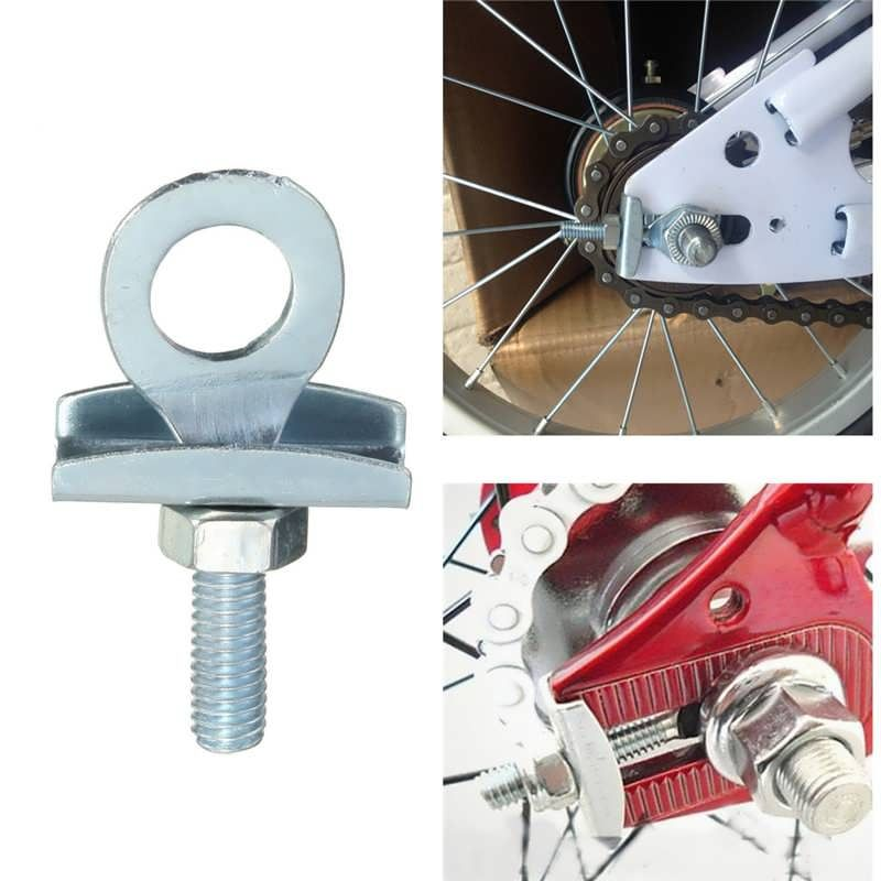 Fixed Gear Track Bicycle Single Speed Bike Chain Tensioner Adjuster for Fixie