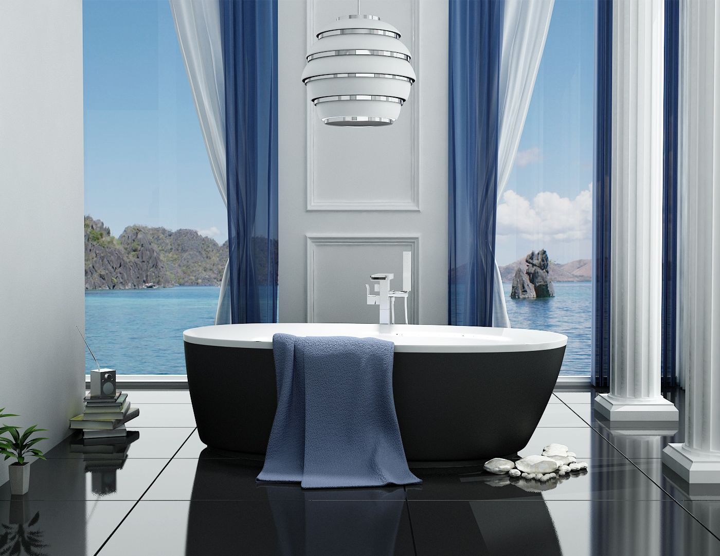 Find our Bathtubs at - http://ovedecors.com/en/produits/baignoires ...