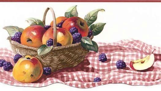 cenefa canasta con frutas