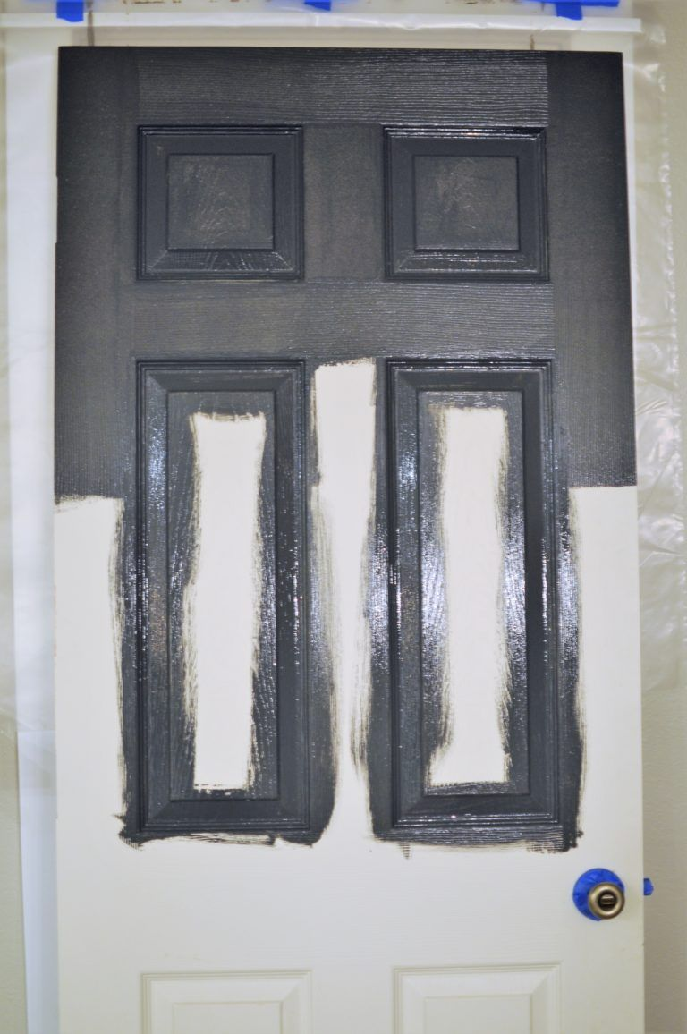 How To Paint A Panel Door Perfectly In Under An Hour Painting
