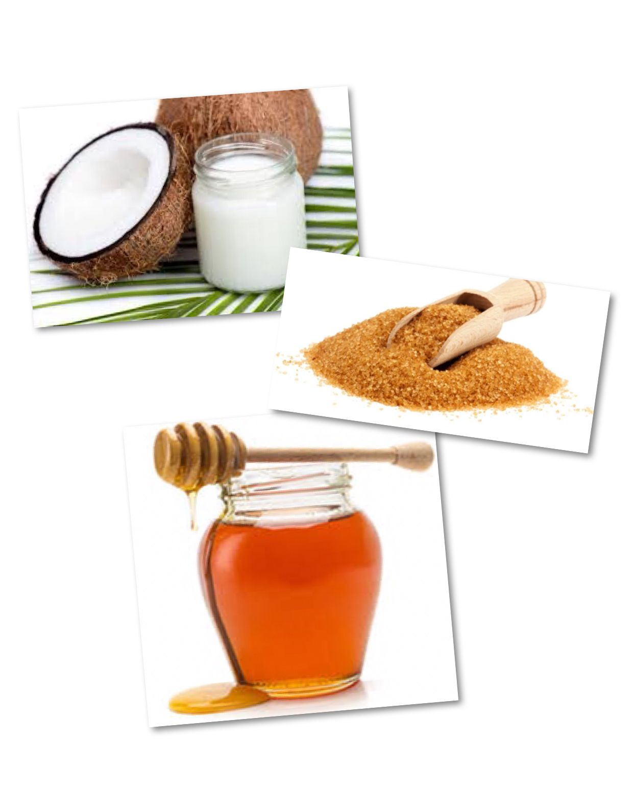 Diy lip scrub homemade recipe ingredients with images
