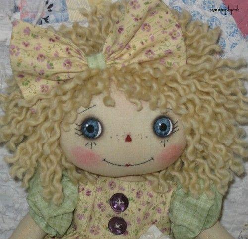 primitive-folk-art-raggedy-ann-doll-Summer-Welcome-Friends