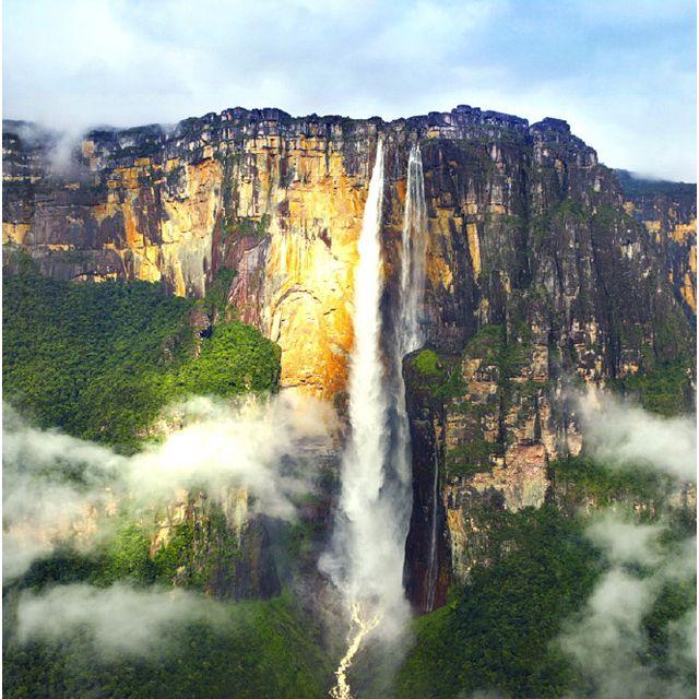 Beautiful | Venezuela paisajes, Mount roraima, Cascadas
