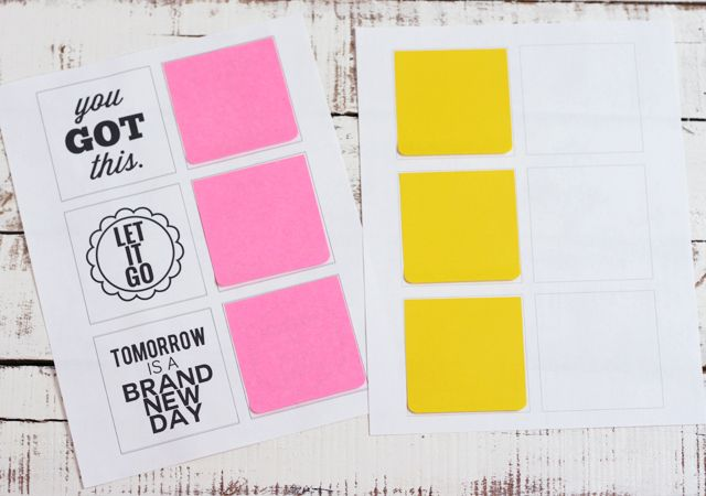 Post-It-Note Printables : You Got This!